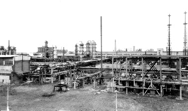 1967 май. I очередь окиси этилена / 1967, May. First line of the Ethylene Oxide Plant