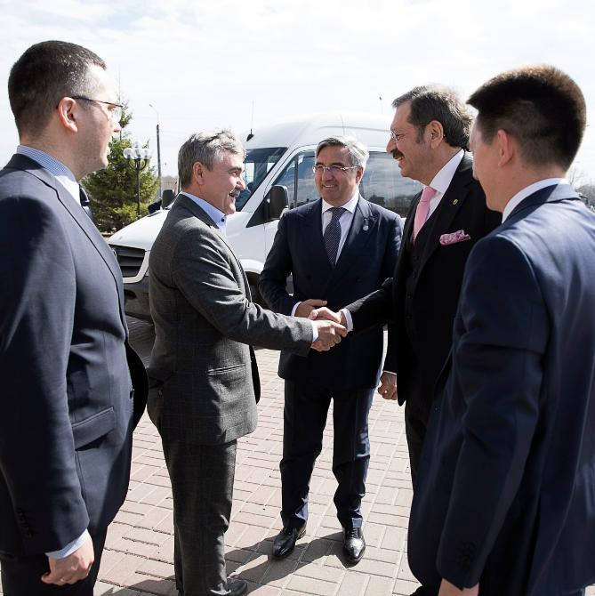 The Delegation of the Republic of Turkey visited Kazanorgsintez in the course of KazanSummit 2019