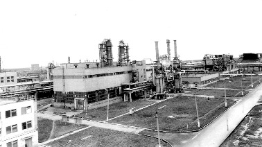 1973 май. II очередь окиси этилена / 1973, May. Second line of the Ethylene Oxide Plant